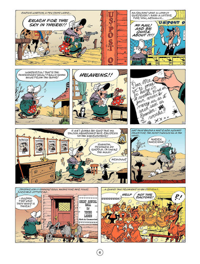Page 5 Lucky Luke T.45 - tying the knot
