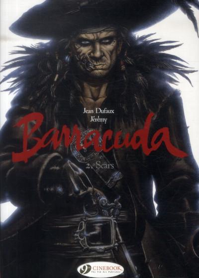 Couverture Barracuda tome 2 (en anglais)