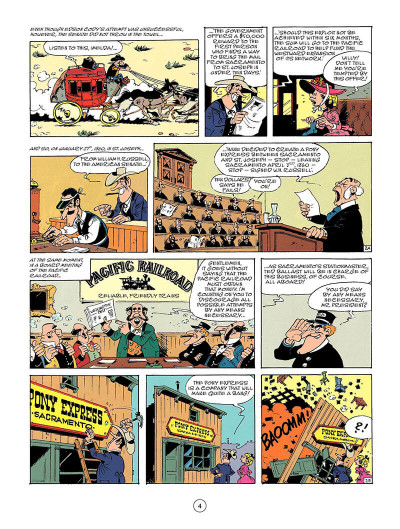 Page 3 Lucky Luke tome 46 - the pony express