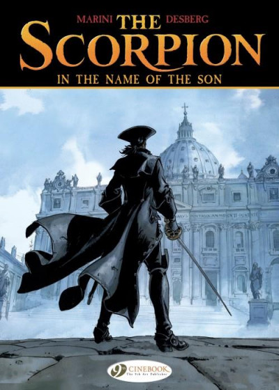 Couverture The scorpion tome 8 - in the name of the son