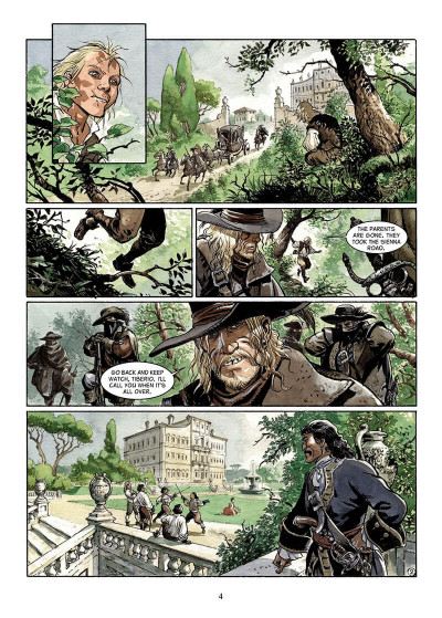 Page 3 The scorpion tome 8 - in the name of the son