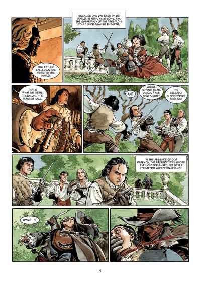 Page 4 The scorpion tome 8 - in the name of the son