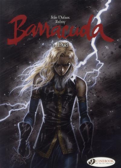 Couverture Barracuda tome 3 (en anglais)