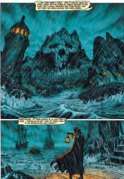Page 2 Barracuda tome 3 (en anglais)
