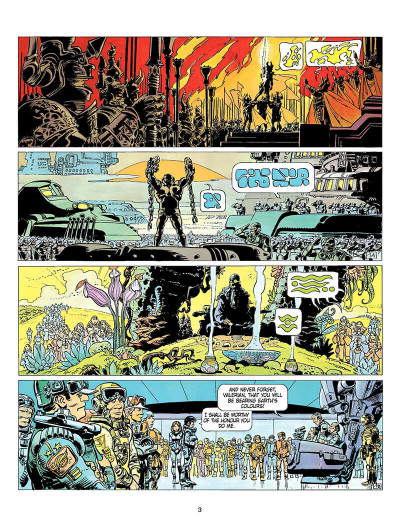 Page 2 Valerian and Laureline tome 8 - heroe of the equinox