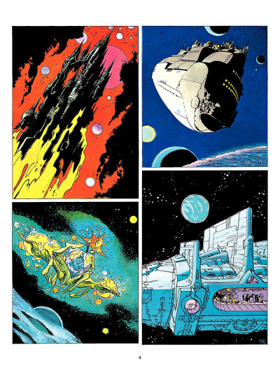 Page 3 Valerian and Laureline tome 8 - heroe of the equinox