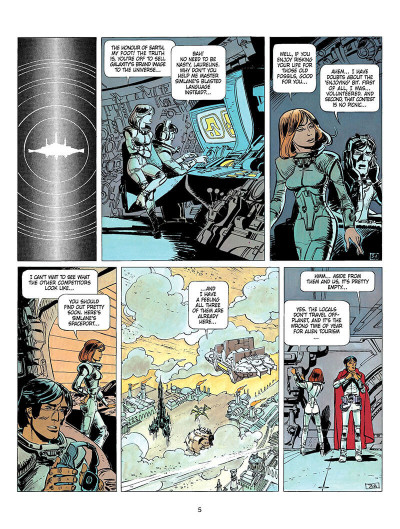 Page 4 Valerian and Laureline tome 8 - heroe of the equinox
