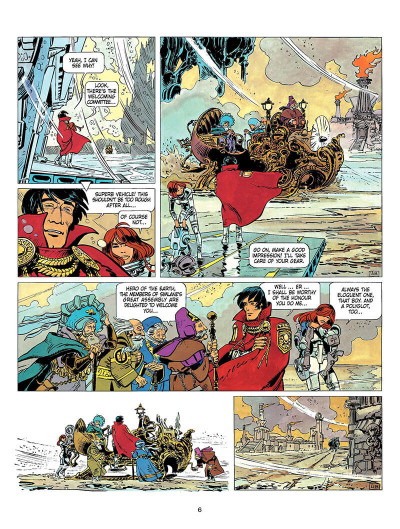 Page 5 Valerian and Laureline tome 8 - heroe of the equinox