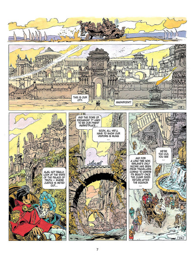 Page 6 Valerian and Laureline tome 8 - heroe of the equinox