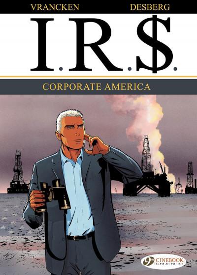 Couverture I.R.S tome 5 - Corporate America