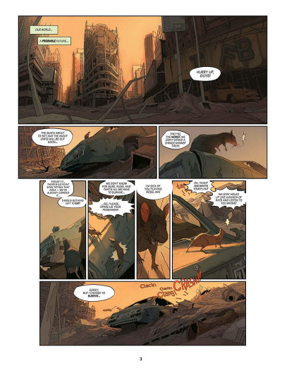 Page 4 SAM tome 1 - After Man