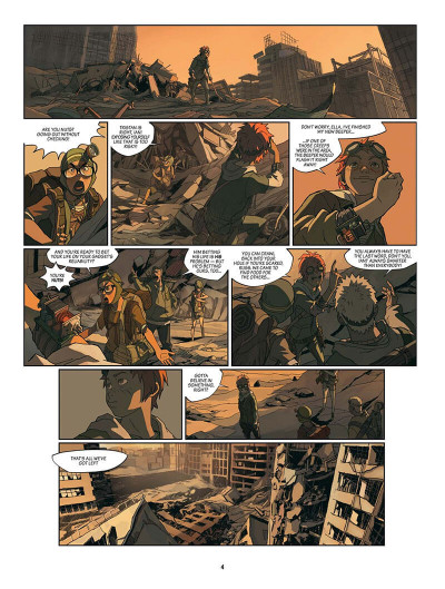 Page 5 SAM tome 1 - After Man