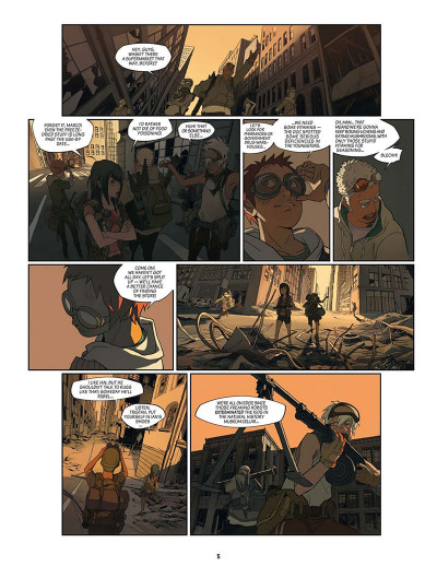 Page 6 SAM tome 1 - After Man