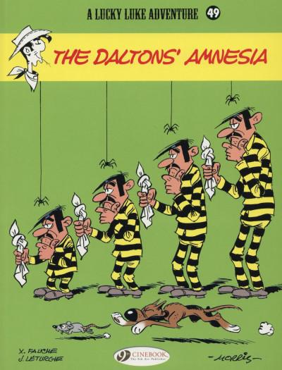 Couverture Lucky Luke tome 49 - The Dalton's Amnesia