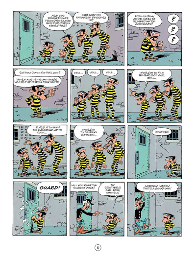 Page 4 Lucky Luke tome 49 - The Dalton's Amnesia