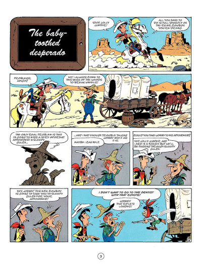 Page 2 Lucky Luke en anglais tome 50 - Seven stories