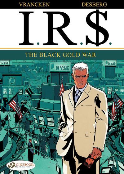 Couverture IR$ tome 6 - The Black Gold War (en anglais)