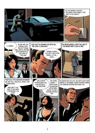 Page 3 IR$ tome 6 - The Black Gold War (en anglais)