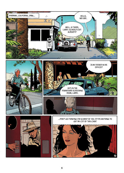Page 5 IR$ tome 6 - The Black Gold War (en anglais)