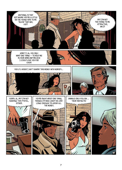 Page 6 IR$ tome 6 - The Black Gold War (en anglais)