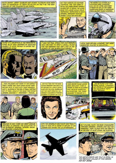Page 1 Buck Danny tome 5 (en anglais)