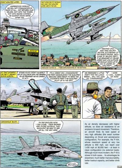 Page 2 Buck Danny tome 5 (en anglais)