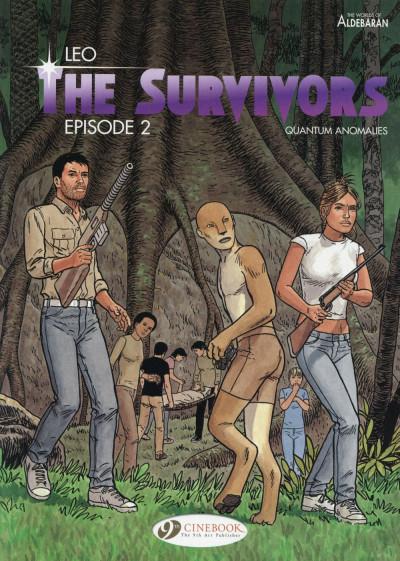 Couverture The survivors tome 2 - en anglais