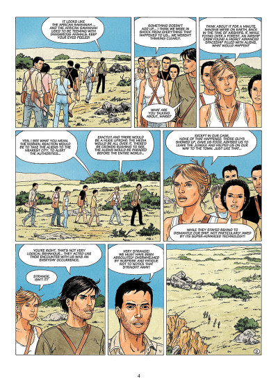 Page 3 The survivors tome 2 - en anglais