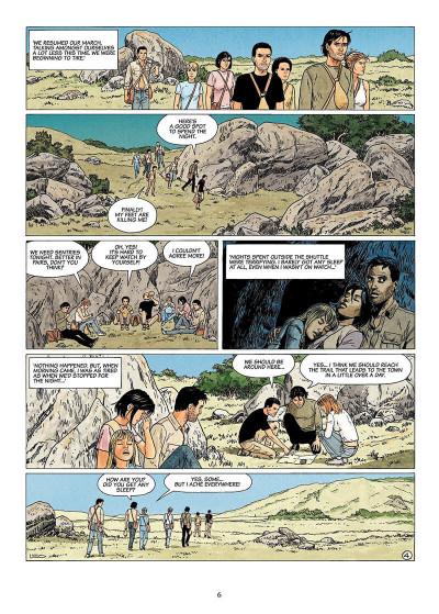 Page 5 The survivors tome 2 - en anglais