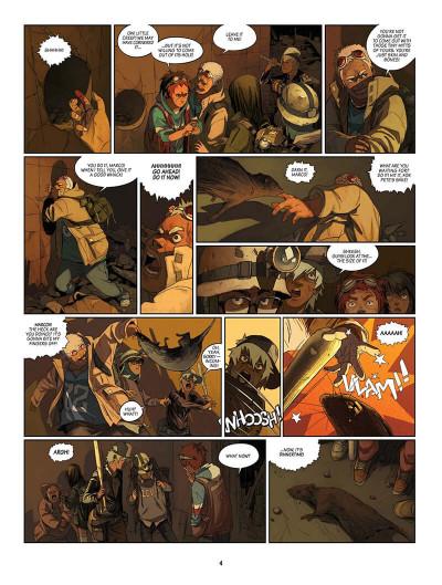 Page 5 SAM tome 2 - robot hunters (en anglais)