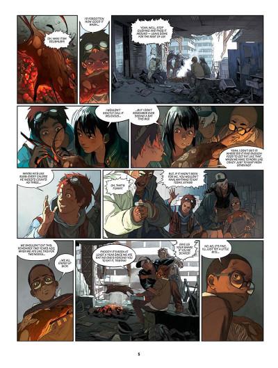 Page 6 SAM tome 2 - robot hunters (en anglais)