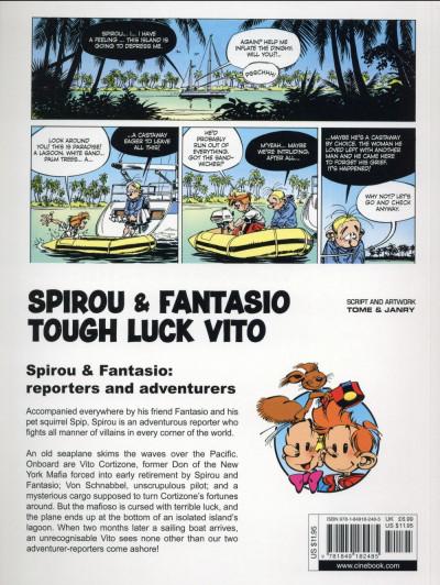 Dos Spirou and Fantasio tome 8 - tough luck Vito