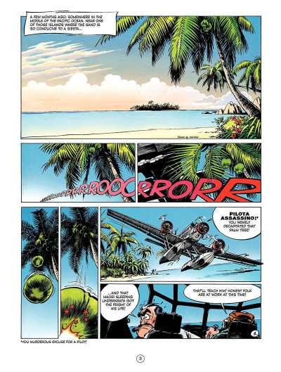 Page 2 Spirou and Fantasio tome 8 - tough luck Vito