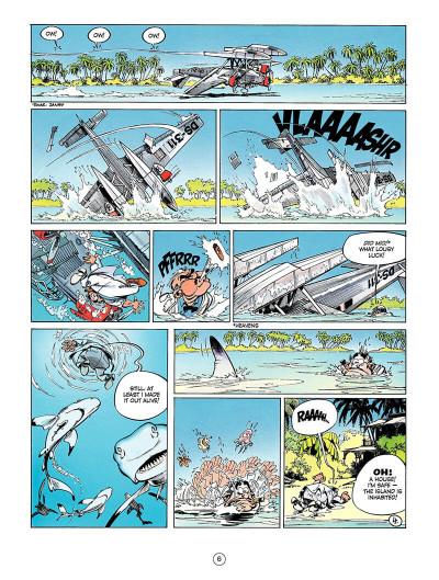 Page 5 Spirou and Fantasio tome 8 - tough luck Vito