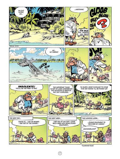 Page 6 Spirou and Fantasio tome 8 - tough luck Vito