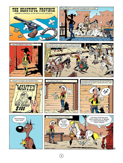 Page 4 Lucky Luke tome 52 - the beautiful province