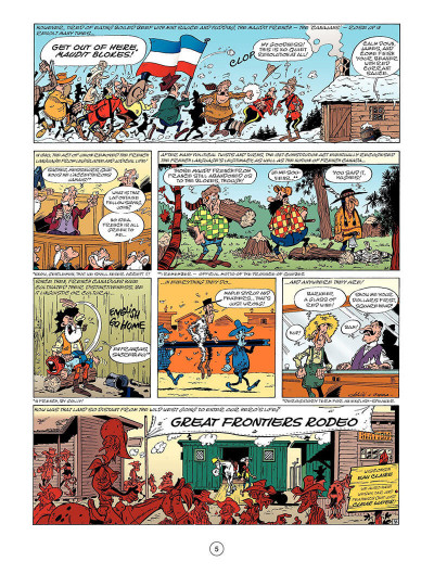 Page 6 Lucky Luke tome 52 - the beautiful province