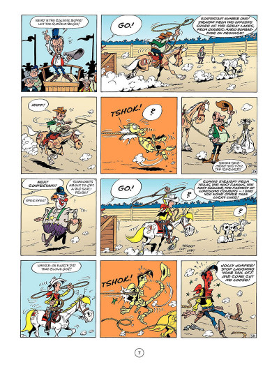 Page 8 Lucky Luke tome 52 - the beautiful province