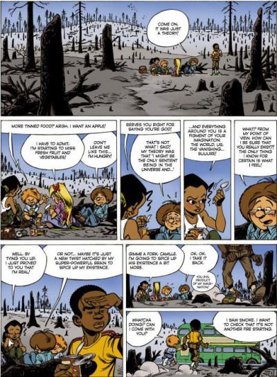 Page 1 Alone tome 3 (en anglais)