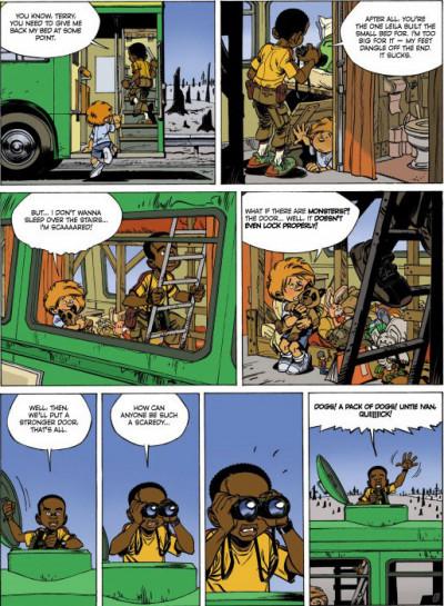 Page 2 Alone tome 3 (en anglais)