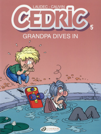 Couverture Cedric tome 5 (en anglais)