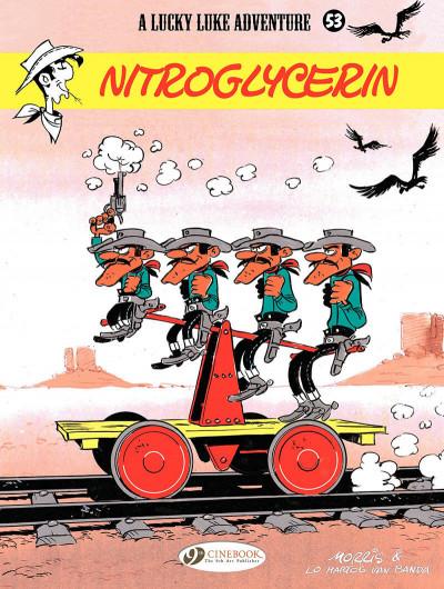 Couverture Lucky Luke tome 53 - Nitroglycerin