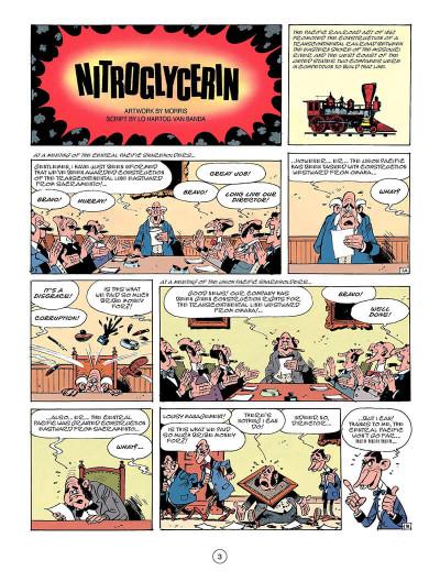 Page 2 Lucky Luke tome 53 - Nitroglycerin