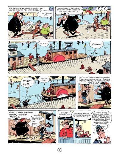 Page 4 Lucky Luke tome 53 - Nitroglycerin
