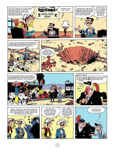 Page 6 Lucky Luke tome 53 - Nitroglycerin