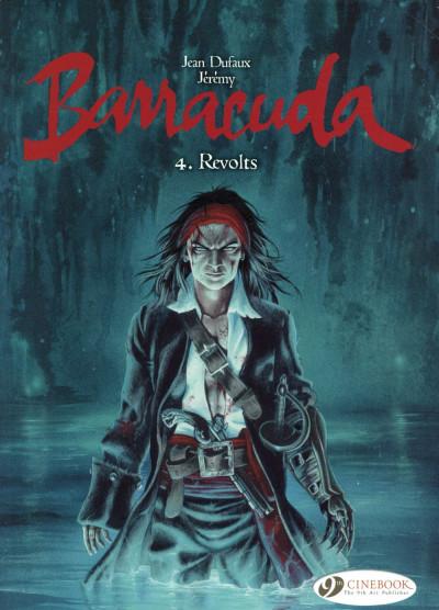 Couverture Barracuda tome 4 - (en anglais)