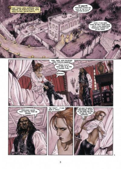 Page 1 Barracuda tome 4 - (en anglais)