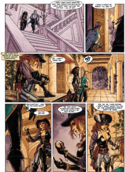 Page 2 Barracuda tome 4 - (en anglais)