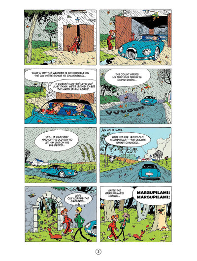 Page 2 Spirou and Fantasio tome 9 - The dictator and the mushroom