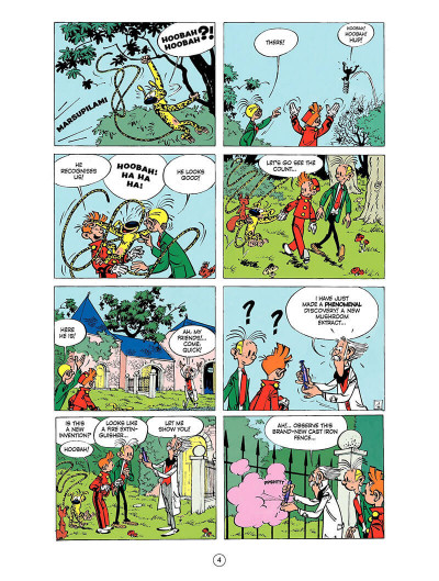 Page 3 Spirou and Fantasio tome 9 - The dictator and the mushroom